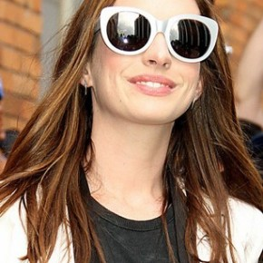 Anne Hathaway and CatEyes