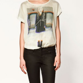 Two blogger Two T-Shirt by Zara